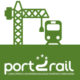 Logo for the Port2Rail course