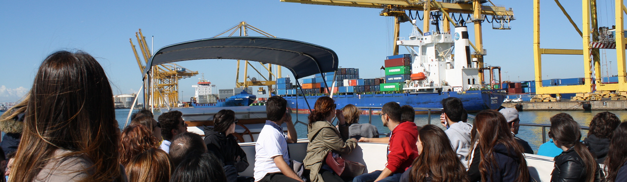 MOST workshop - visit to the Port of Barcelona