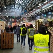 Participants of the 2019 edition of the Temperature Controlled Supply Chains course at the Barcelona Wholesale food market Mercabarna