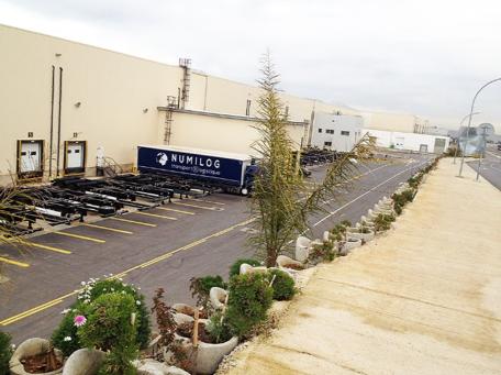 Logistics Warehouse in Algeria