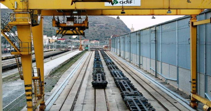 ADIF rail terminal