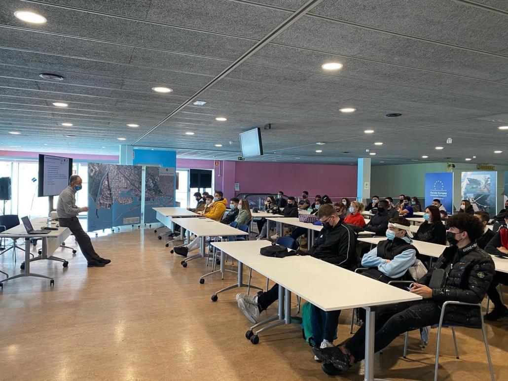 Foto Aula dels Estels - YEP MED course