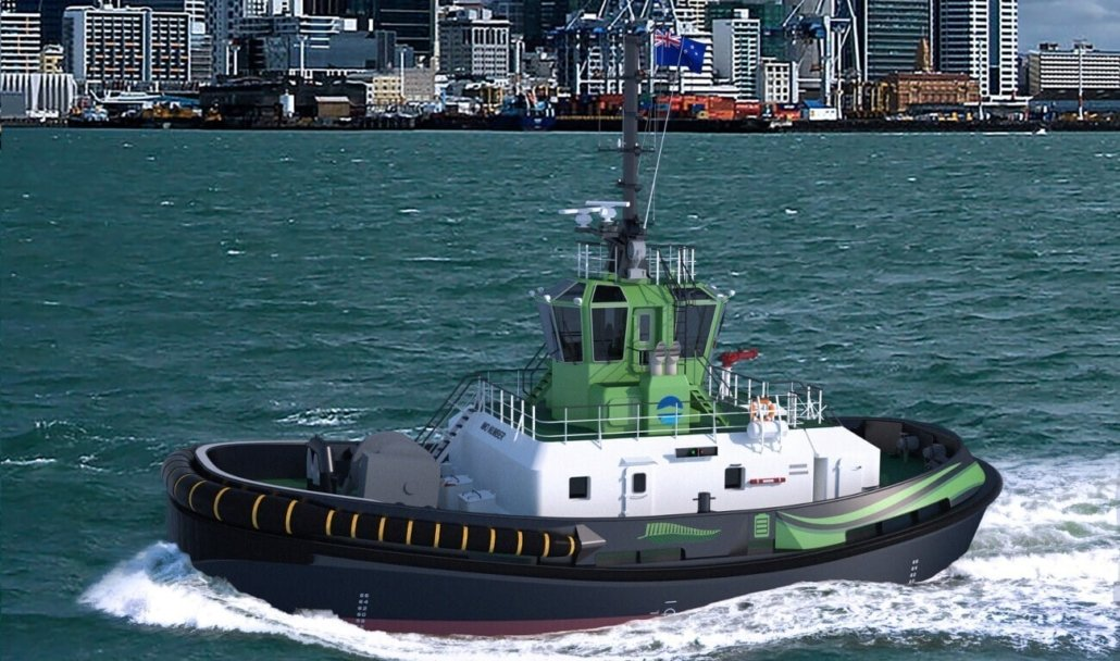 Etug at the Ports of Auckland