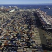 Container terminal at the Port of Long Beach